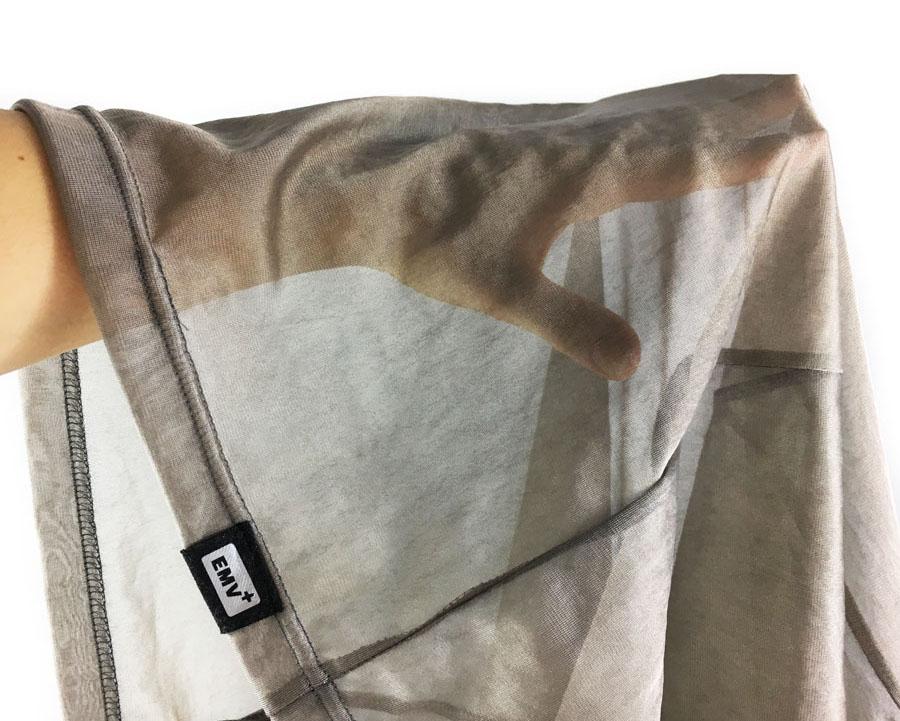 EMV+ Elektrosmog, Handy, Mobilfunk, WLAN, Strahlung abschirmendes Shirt