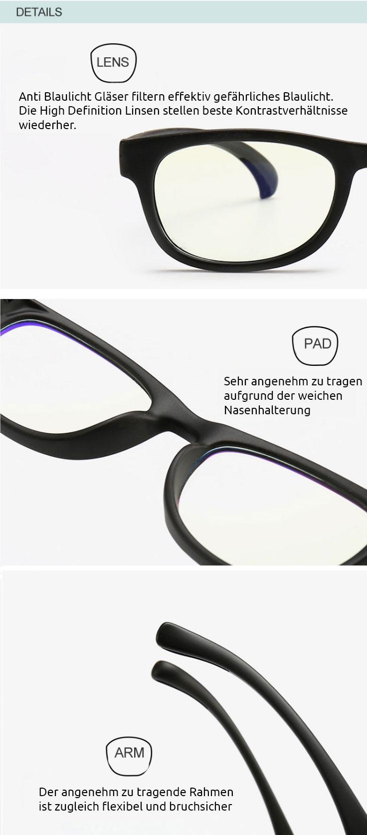 Anti blaulicht brillen info