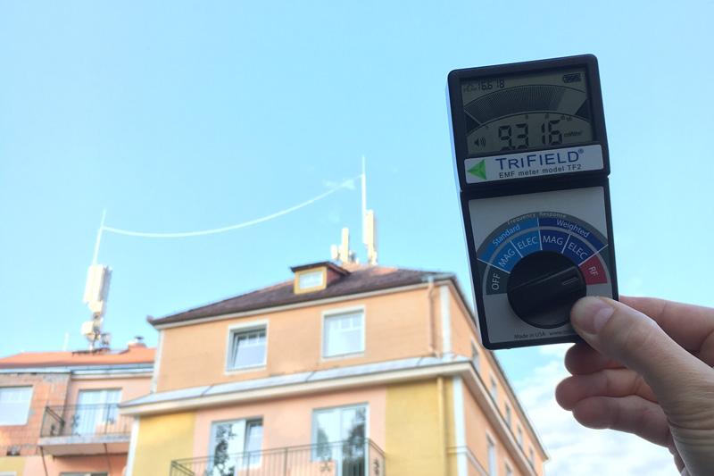 Messung von Funkmasten