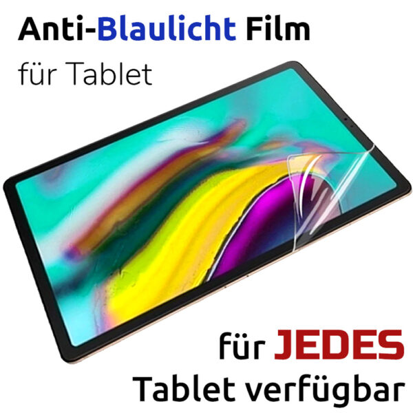 Anti-Blaulicht-Tablet-alle