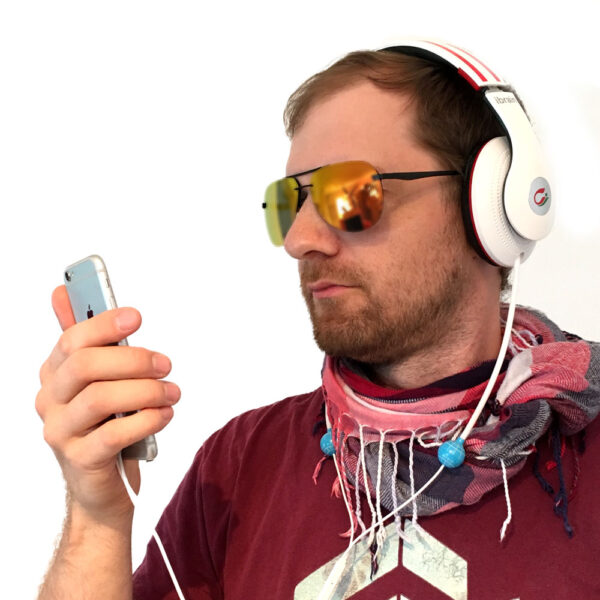 Airtubes Over Ear Headset